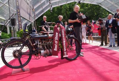 Concorso di Eleganza Villa d'Este Como 2011: vince la Pierce Four del 1910 di 614 cc