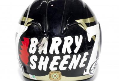 Moto storiche e cimeli di Barry Sheene all'asta