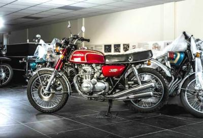 "Oltre 150 Honda d'epoca nella ""David Silver Collection"""