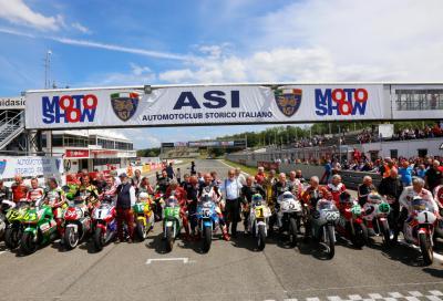 ASI Motoshow 2017: moto storiche e Campioni in pista a Varano
