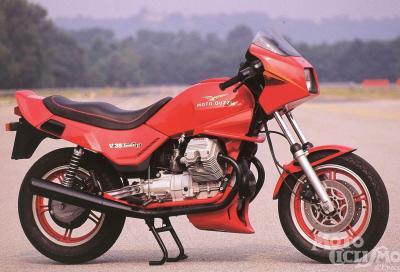 Guzzi V 35 Imola II-V 65 Lario: belle e fragili moto anni '80