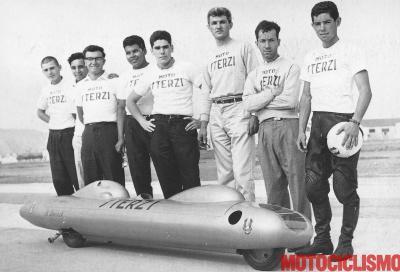 """Un """"siluro"""" Sterzi alla ricerca del record di velocità"""