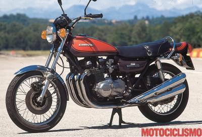 Kawasaki Z1 900, muscoli Anni '70