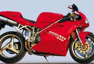Ducati 916: pezzo meccanico o opera d'arte?