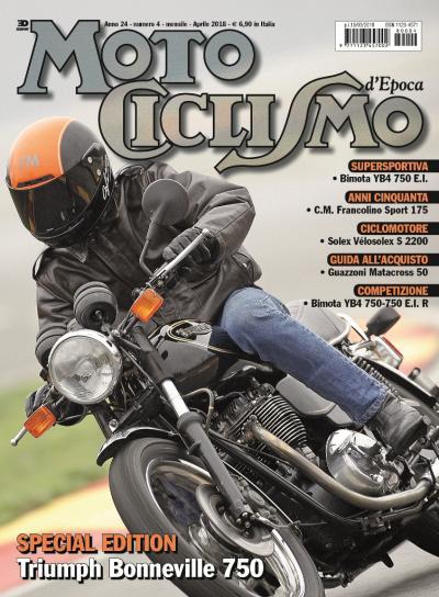 Motociclismo d'epoca di aprile 2018