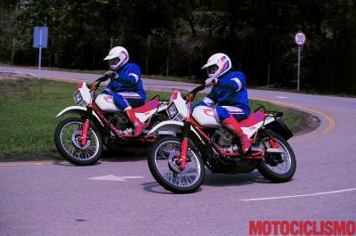 Moto Guzzi V35-65 TT: primi passi verso Dakar