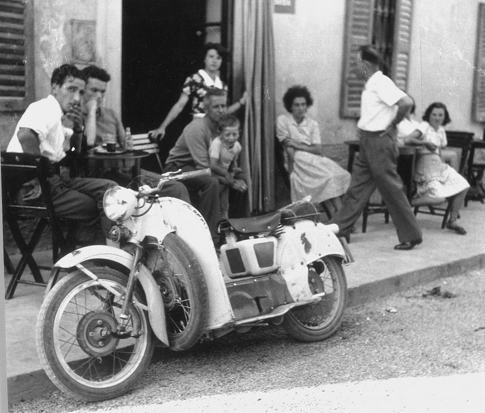 La foto scoop del Moto Guzzi Galletto