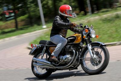 Honda CB500 Four, prova di forza