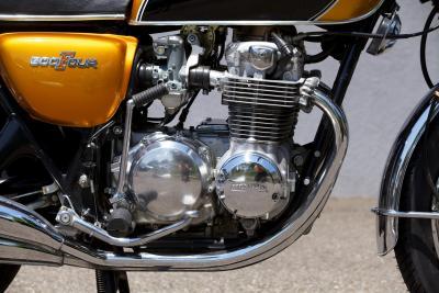 I segreti del motore della Honda CB500 Four