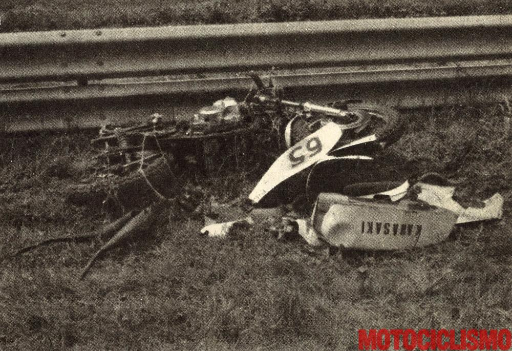 Monza, 1973: l'incidente di Chionio, Colombini e Galtrucco