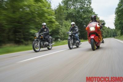 In viaggio con la storia: BMW R50S, R75/5 e K1