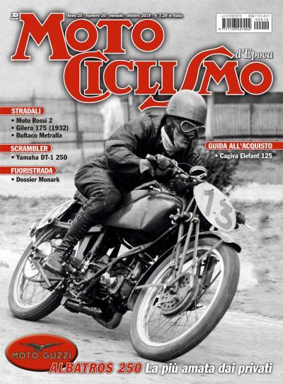 Motociclismo d'epoca di ottobre 2019 è in edicola