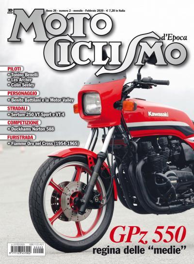 Motociclismo d'epoca di febbraio 2020 è in edicola